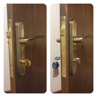 Комплекс работ по замене дверного замка