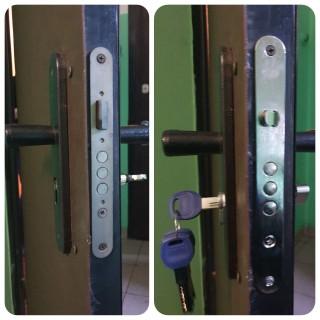 Замена замка во входной двери